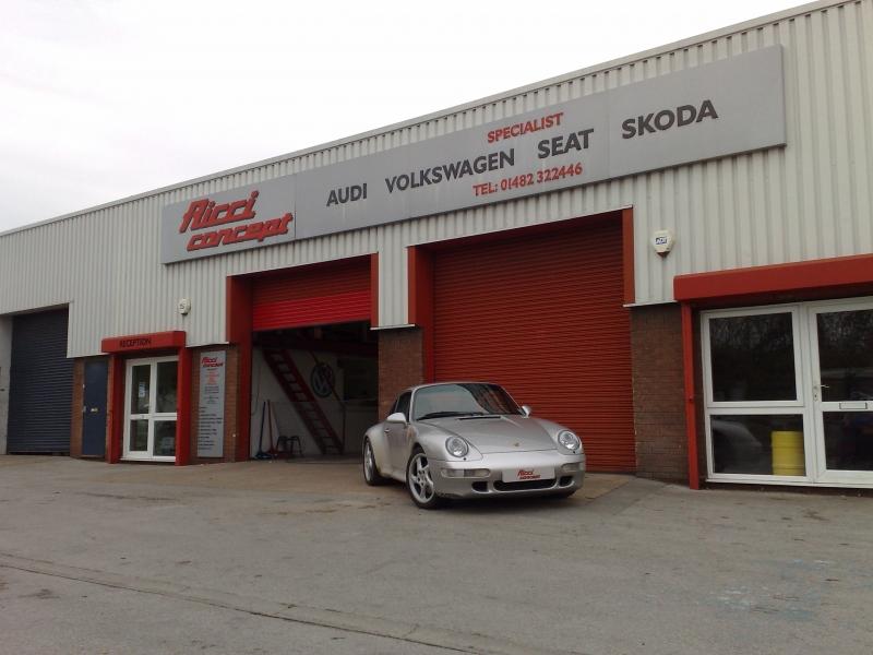 Porsche 993 @ Ricci concept