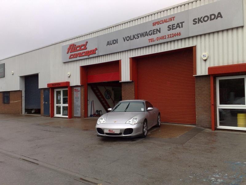 Porsche 996 @ Ricci Concept