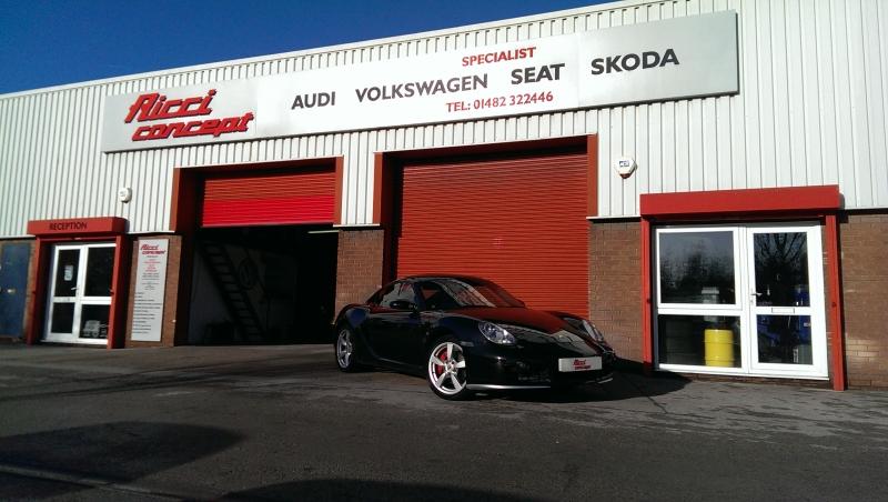 Porsche Caymen @ Ricci concept