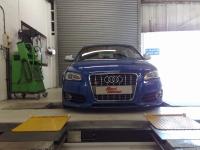 Audi S3 MOT testing