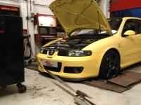 Dyno testing seat leon @Ricci concept 1