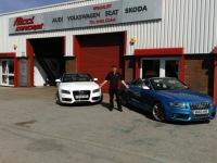 audi cabriolet day