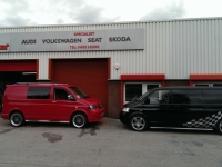 vw T5 custom vans @ Ricci Concept