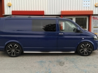 VW t5 fitted with Bilstein coilover kit @ Ricci concept