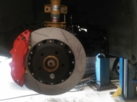 vw T5 Forge big brake kit