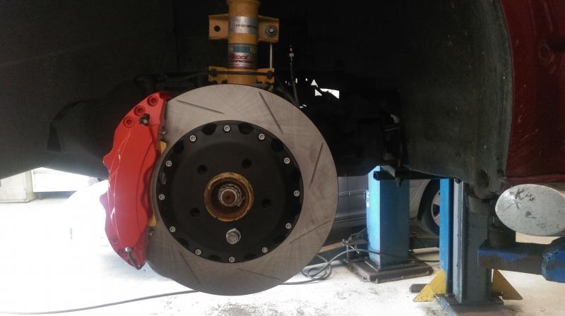 vw T5 Forge big brake kit
